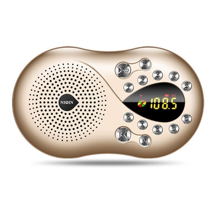 收音機力勤 Q5老年收音機老人迷你小音響插卡音箱便攜式