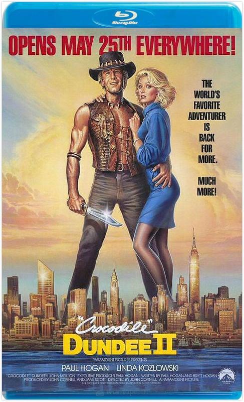 鱷魚先生第二集 / 鱷魚鄧迪 2  CROCODILE DUNDEE II (1988)