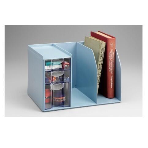 Flying 雙鶖 H-301 創新書架整理盒(組) (附三層抽屜整理盒) 桌面收納整理的好幫手
