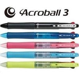 PILOT百樂 BKAB-40F Acroball 三色輕油舒寫筆 0.7mm