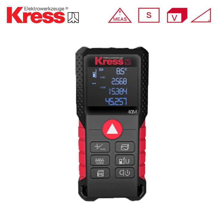 [精準測量] 卡勝 KRESS KI200測距儀 防水 防塵 面積 體積 雷射 勾股 40米 70米 100米 螢宇五金