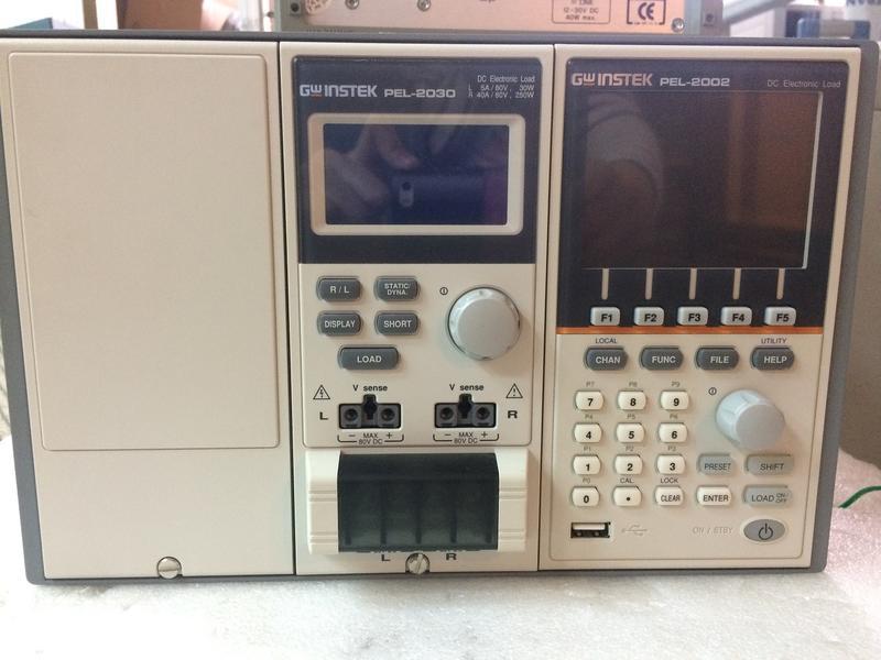 【弘燁科技】: 中古儀器, 二手儀器, 儀器租賃, 儀器維修 GW PEL-2002 電子負載