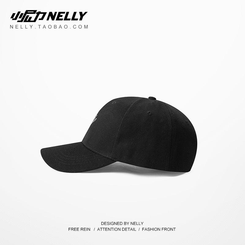 原創街頭品牌BBOY復古刺繡棒球帽嘻哈彎檐遮陽滑板帽子