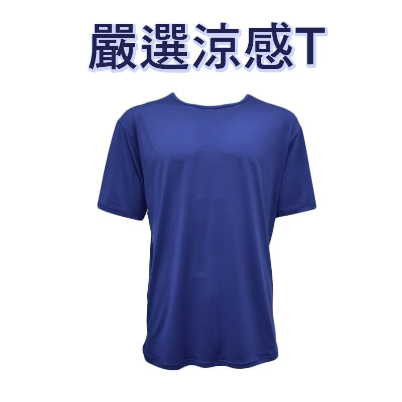【現貨】 男T恤 素面涼感衣 舒適 彈性佳 涼感 男短袖 排汗衣 吸濕排汗圓領運動休閒T恤