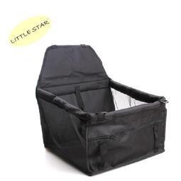 LITTLE STAR 小新星【可摺疊防水寵物汽車安全座椅】寵物透氣汽座 狗狗車用坐椅車內坐墊 防髒墊