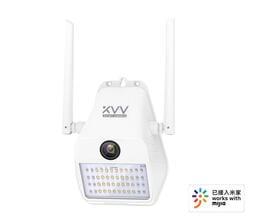 米家戶外全彩壁燈攝影機D7【1080P 日夜全彩 150度大廣角】小米手機APP遠端WIFI無線監視器