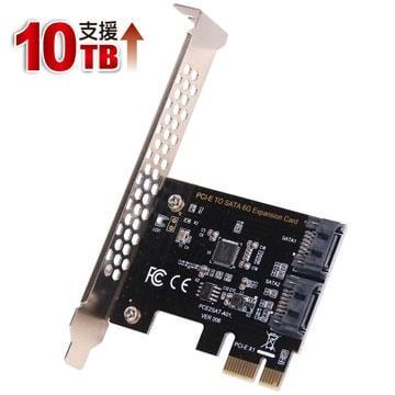 伽利略 PCI-E SATA III 2 埠 擴充卡(PES320A)