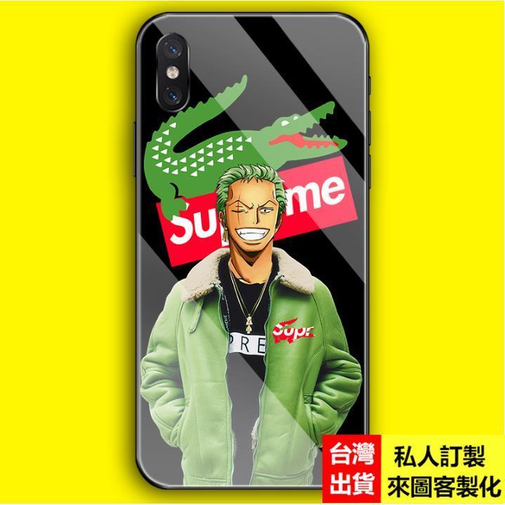 現貨潮牌卡通魯夫卡通samsung三星a71 a70 a80 a60 a30 a8s a9 2018手機殼保護套 玻璃殼