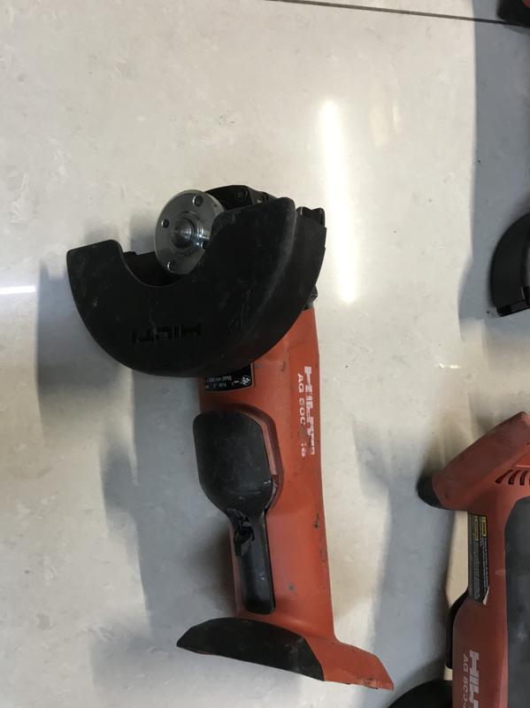 二手 HILTI AG500 砂輪機  喜利得 ag500 喜得釘砂輪機 18v-22v hilti ag125 通用款