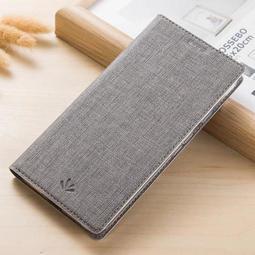 ViLi 正品 Sony Xperia XZ3 手機殼 時尚 牛仔皮紋 翻蓋 支架 皮套 全包 插卡 磁吸 保護套 磨砂