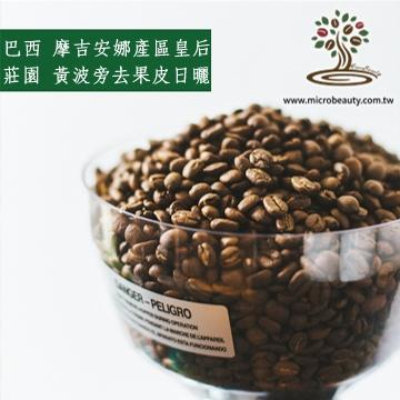[微美咖啡]-超值1磅450元,摩吉安娜產區 皇后莊園 黃波旁 去果皮日曬(巴西)中焙咖啡豆,500免運,新鮮烘培