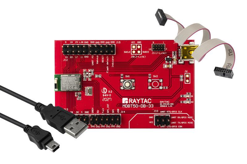 Nordic勁達nRF52833模組開發板MDBT50-DB藍牙5.2BT5.2BLE開發工具DK