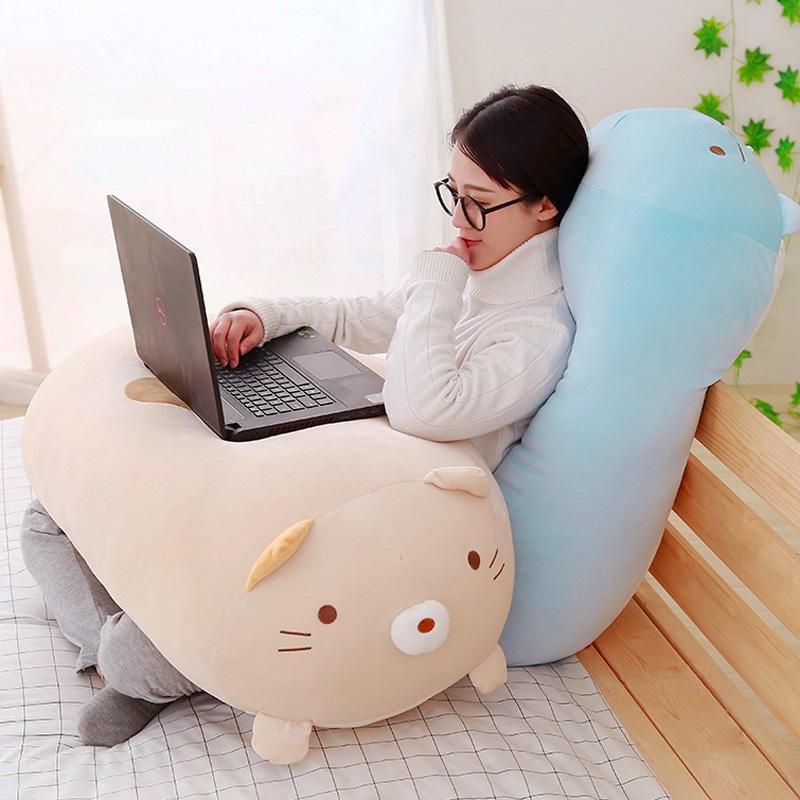 韓國角落生物抱枕公仔超軟毛絨玩具抱著睡覺的娃娃公仔女生日禮物--千百陌