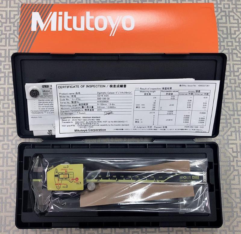 日本Mitutoyo 三豐數位卡尺 游標卡尺 電子卡尺 500-196-30 150mm 現貨未稅