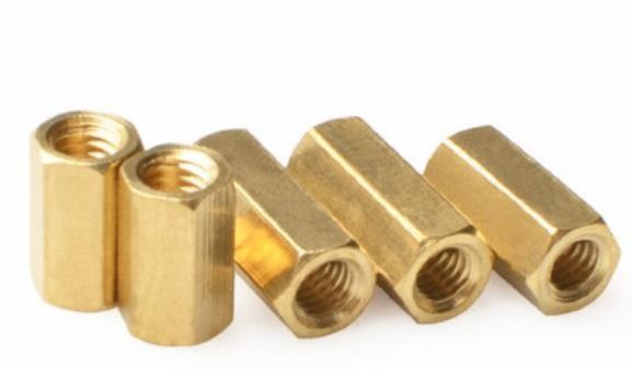 【佑齊企業 iCmore】M2.5*11mm 六角雙通銅柱 六角隔離柱 /M2.5系列六角雙母銅螺柱-50入/包(含稅)