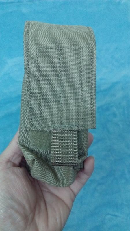 LBT-9011A M18煙霧彈袋 Tan499 SEAL NSW