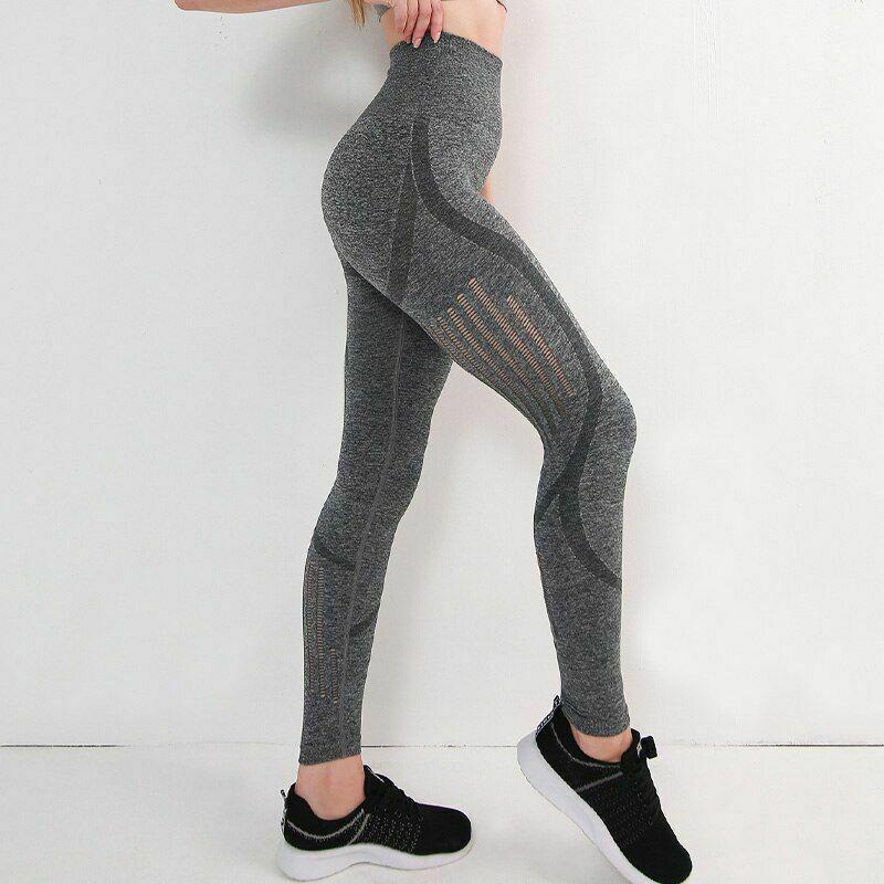 女士瑜伽褲 超彈力 健身房 女性 高腰健身運動跑步