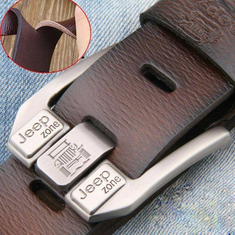 男士 正品皮帶 奢華品牌合金 金屬針扣 設計師腰帶