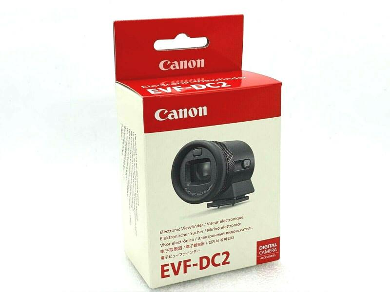 New CANON EVF-DC2 Electronic Viewfinder BLACK for EOS M6/M3 PowerShot G1XII G3X