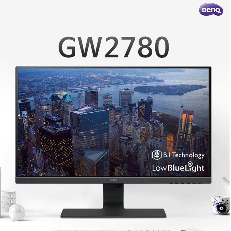 明基 gw2780 眼部護理27吋 螢幕 lcd srgb 100% 60 hz