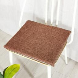 Square Chair Cushion Soft Seat Pads Tie On Garden Dining Kitchen Patio Office