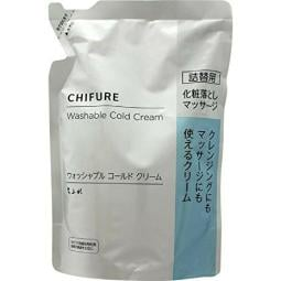 CHIFURE Washable Cold Cream Refill 300 g for cleansing & Massage JAPAN F/S