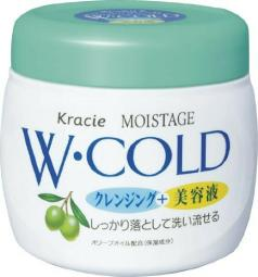Kracie Moistage W cold cream 270 g Cleansing & Essence JAPAN F/S