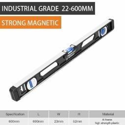 Precision Aluminum Alloy Water Level Indicator Digital Scale Horizontal Length