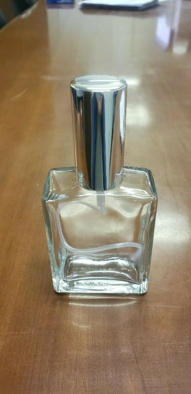香水古龍水精油廢化器可填充玻璃瓶銀噴霧器