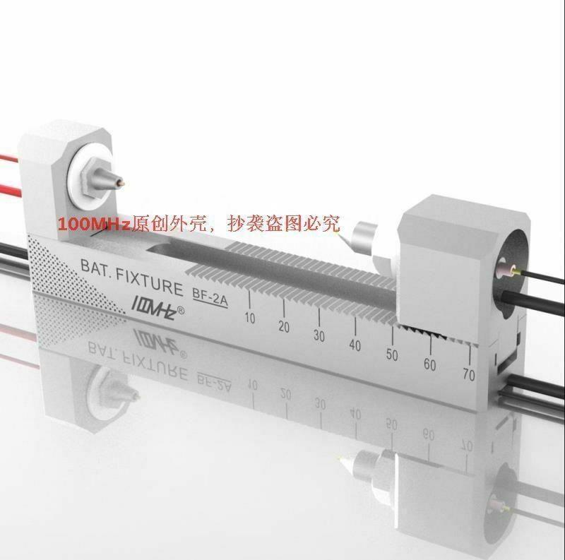 雙自鎖式鋁合金cnc四線電池夾夾具bf-2a