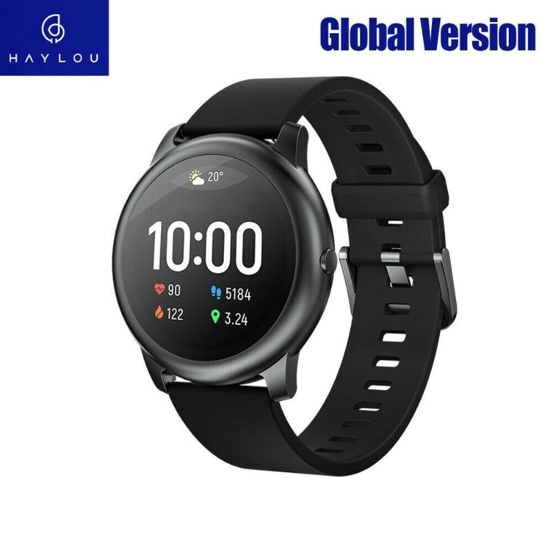 Haylou Solar LS05 Smart Sports Watch BT 5.0 APP Record Heart Rate Sleep Health