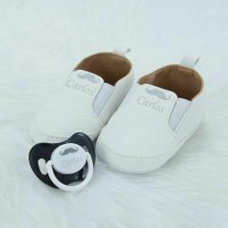 Cool Baby Shoes Pacifier Sets Personalized Any Name Can Make Unique Designs Made