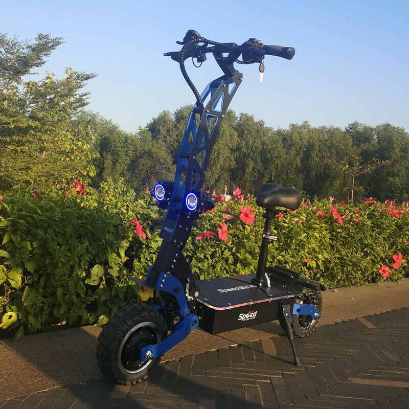 flj 7000w / 72v雙輪11吋.折疊越野電動滑板車 快速