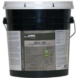 SHAW 200 Adhesive for LUXURY VINYL TILE & PLAN Flooring (4-Gallon Pail)