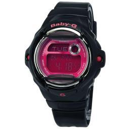 Casio Baby-G 200 Meter Water Resis Ladies Watch BG-169R-1B BG169R 1B