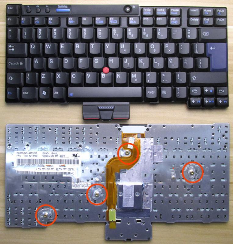 正品鍵盤 用於ibm聯想thinkpad x201 x201s x201i x201t筆電