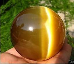 80MM + STAND Sell ASIAN QUARTZ TIGER EYE CRYSTAL HEALING BALL SPHERE +STAND