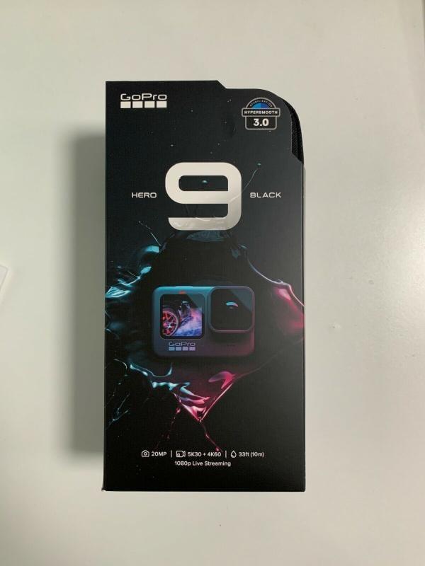 全新 GoPro Hero9 全方位運動攝影機 黑色