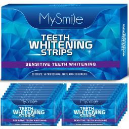 6%hp MySmile Whiter Strips Teeth Whitening - 14 Packs 28pc White Strips
