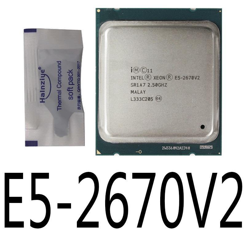 intel xeon e5-2650 v2 e5-2667 e5-2667 v2 e5-2670 e5-2670 v2 cpu處理器