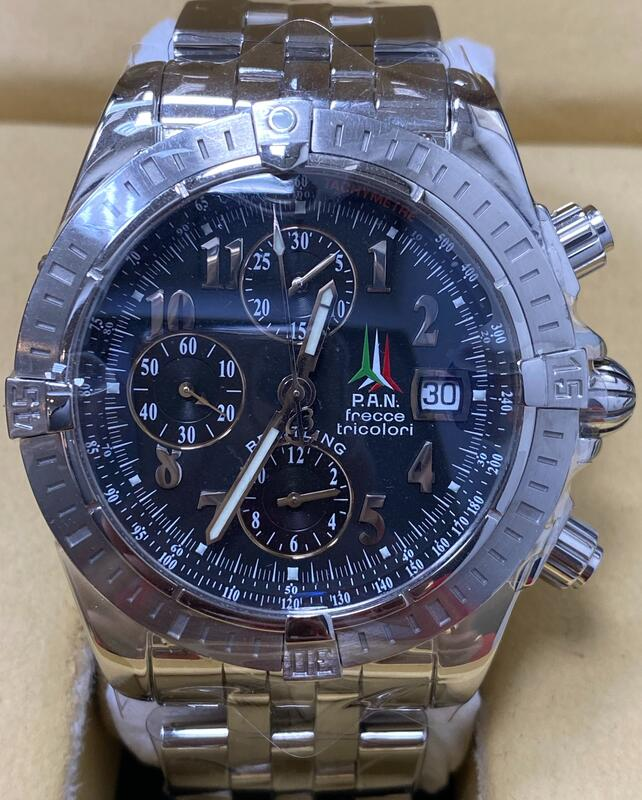 BREITLING 百年靈 Chronomat Evolution A13356 自動上鍊 計時碼錶-J0461