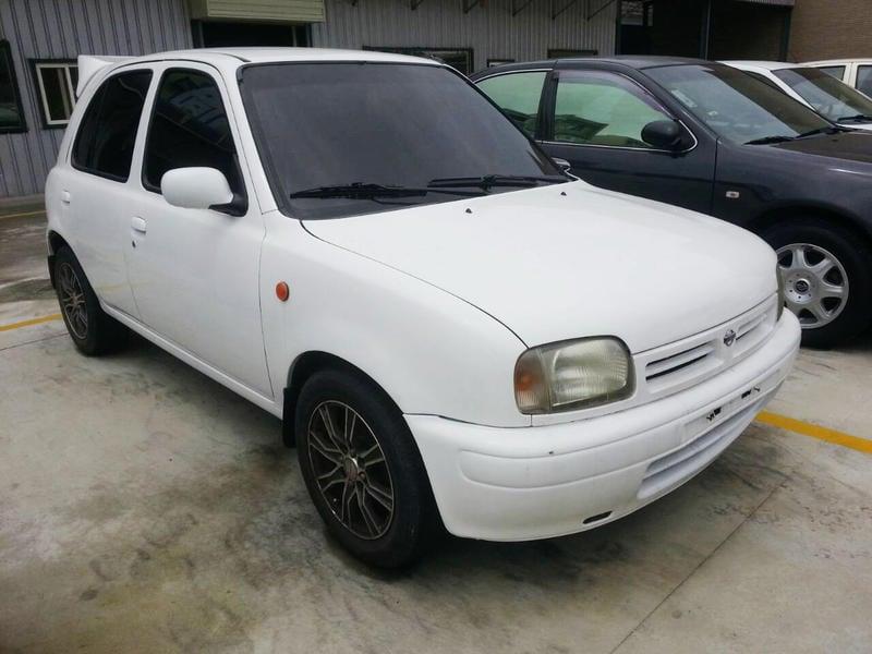 1994 Nissan March 1.3 白 原廠手排-