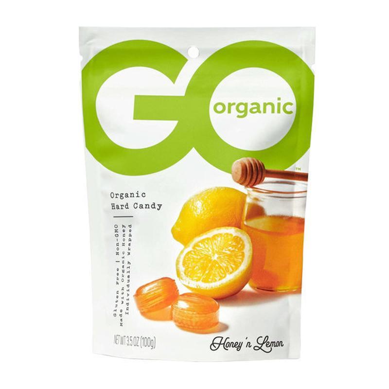 [Go Organic] 有機硬糖 蜂蜜檸檬 100 g