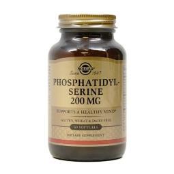 [Solgar]/磷脂酰絲氨酸/200/mg/60/軟膠