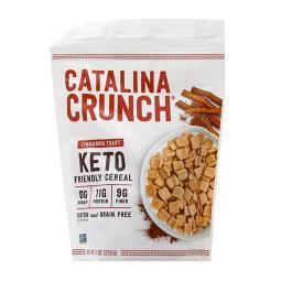 [Catalina Crunch] 生酮飲食 keto 生酮友好麥片 肉桂吐司 9 oz