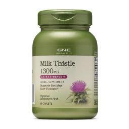[GNC] Herbal Plus 強效奶薊 水飛薊 1300mg 60 粒膠囊