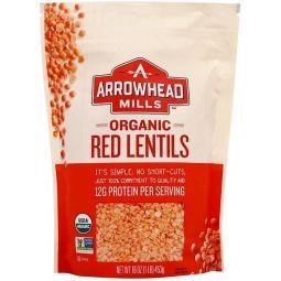 [Arrowhead Mills] 有機紅扁豆 16 oz