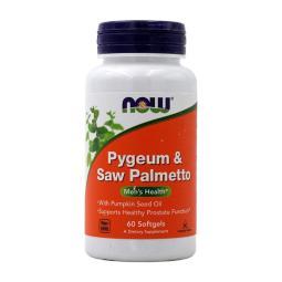 [Now Foods] 非洲刺李 & 鋸棕櫚 60 粒軟膠囊 Pygeum Saw Palmetto