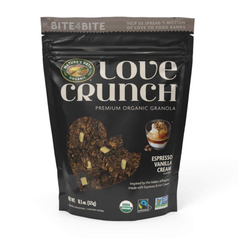 [NATURE'S PATH] Love Premium 格蘭諾拉麥片 咖啡香草 325 g