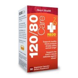 Redd/Redmedies/120/80/護理/心臟/健康/60/素食/膠囊